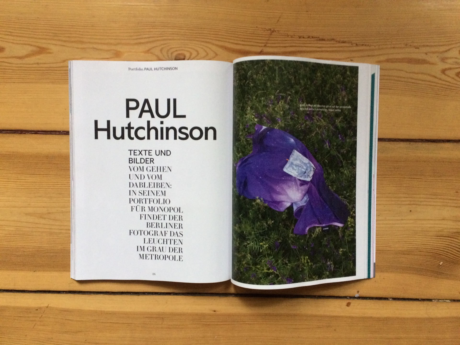 Paul Hutchinson activities