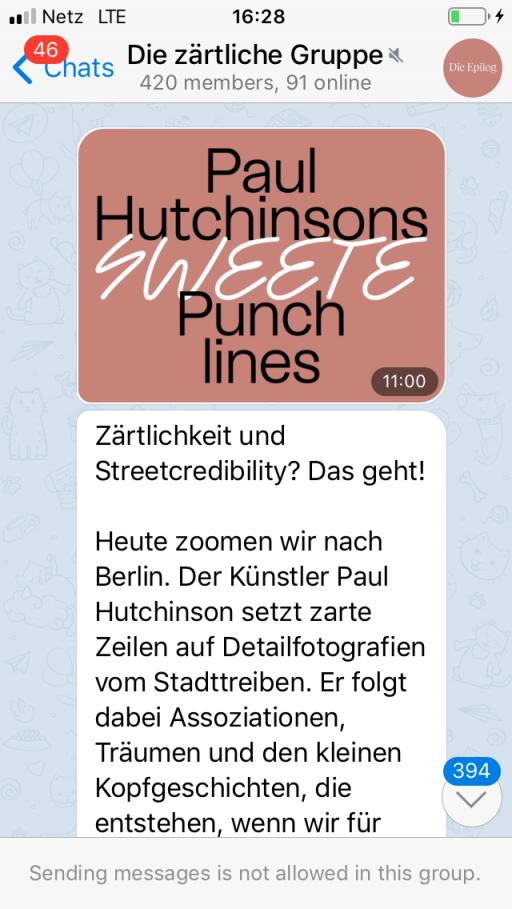 Paul Hutchinson activities